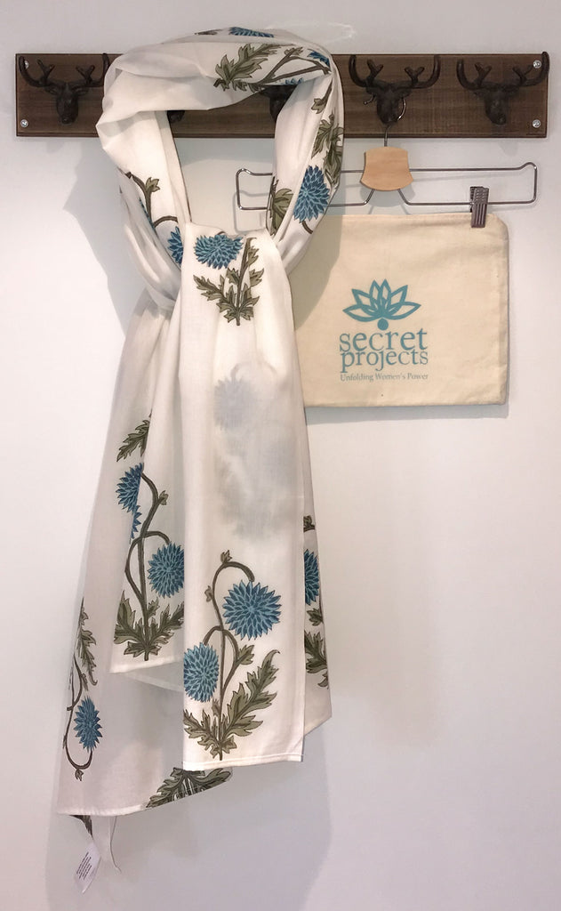 Thistle Botanical Secret Scarf