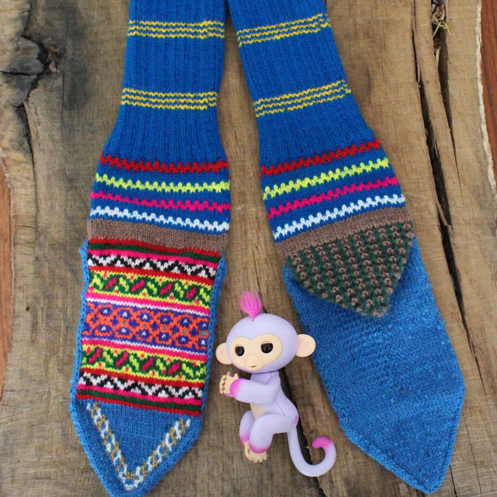 Secret Giggle LARGE Secret Spiti socks