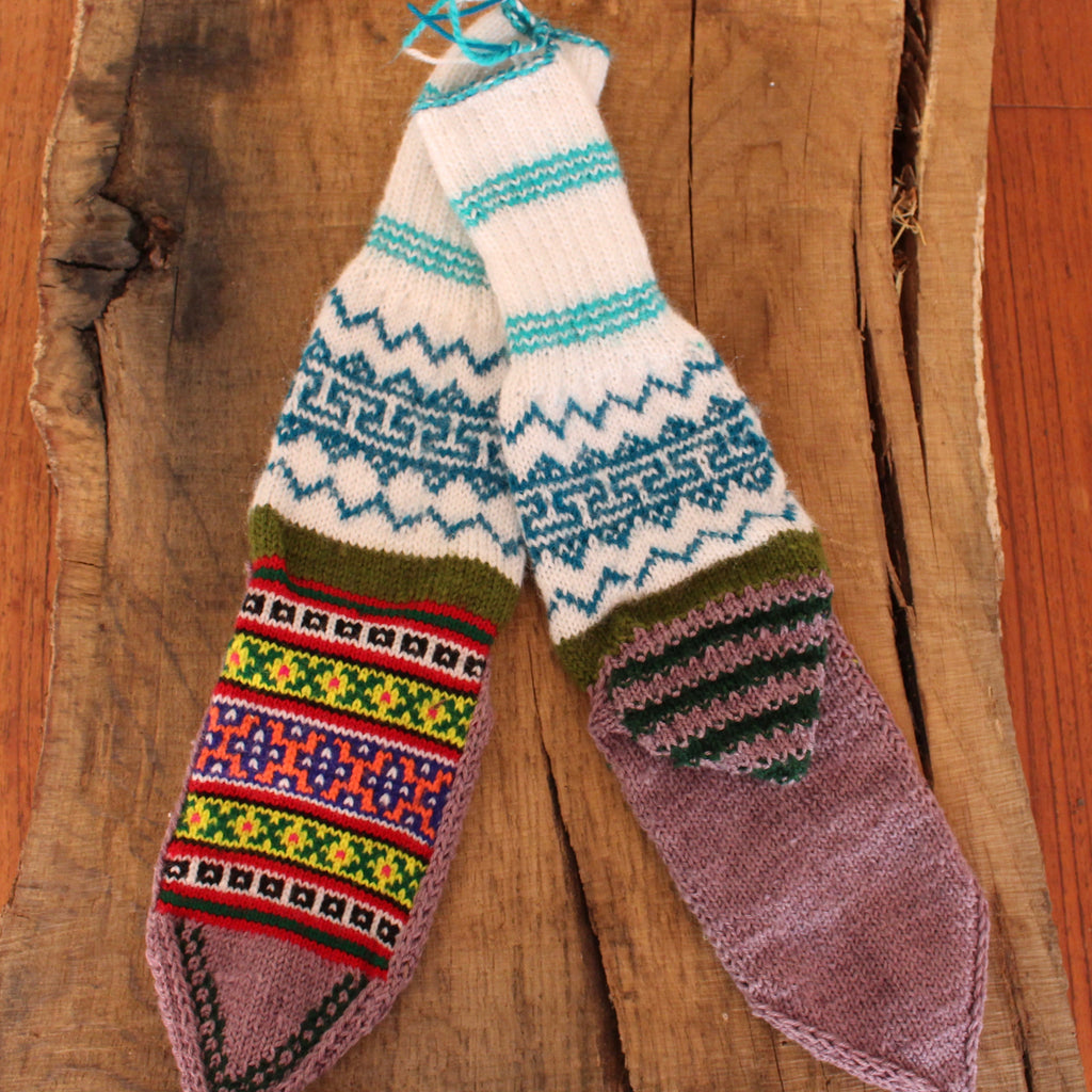 Misty Holes LARGE Secret Spiti Socks