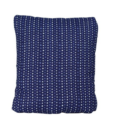 Blue Spots Secret Pillow