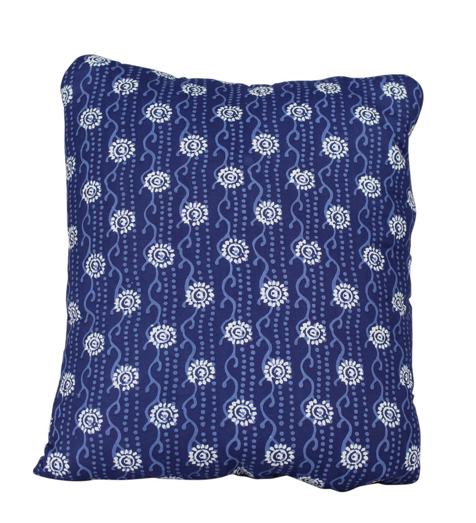 Circle Coral Flowers Secret Pillow
