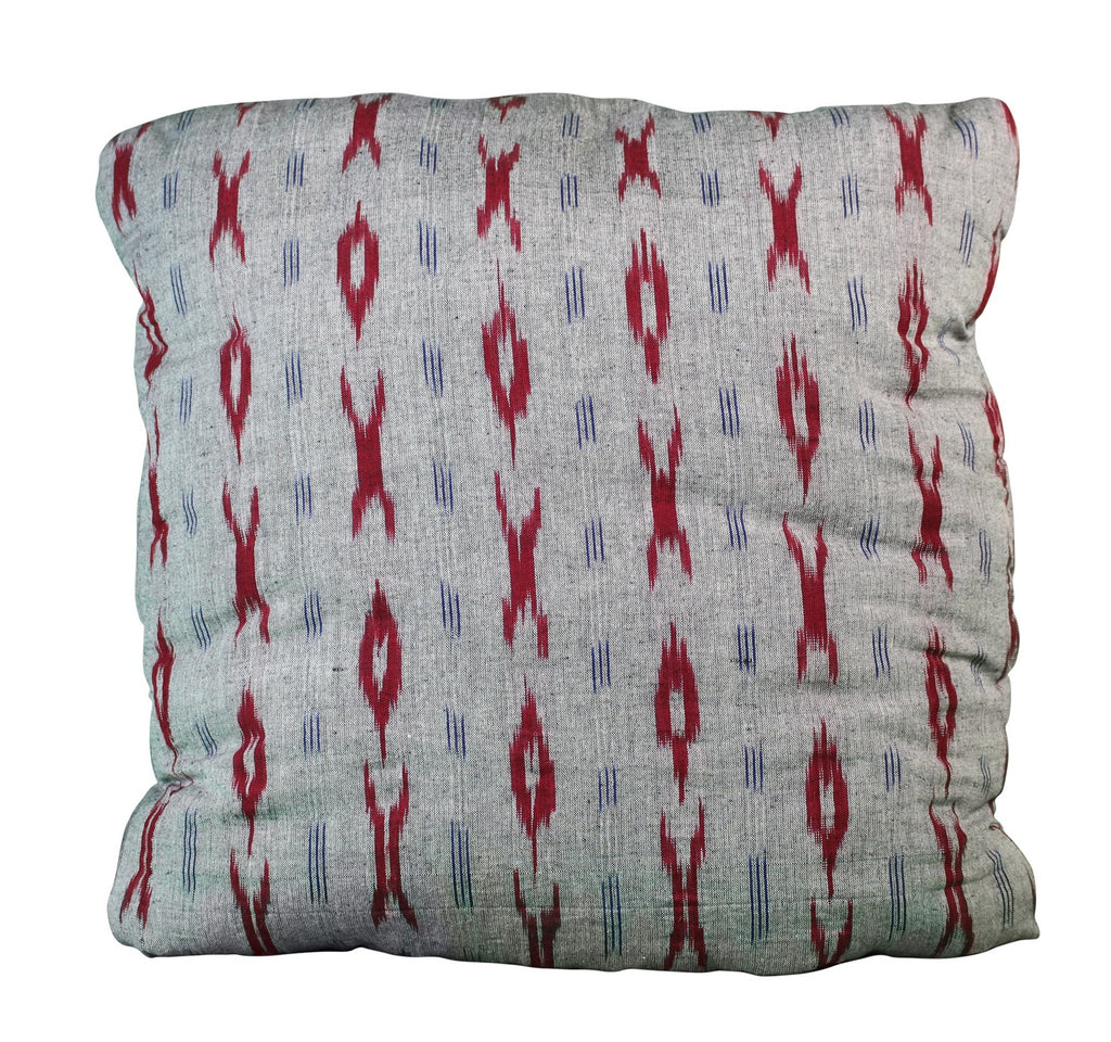 Ikkat Autumn Secret Pillow