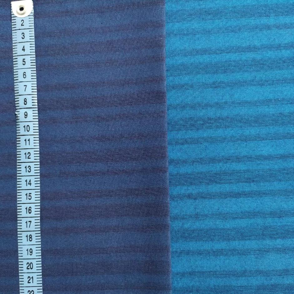 Indigo Stripe Secret Shopping Bag