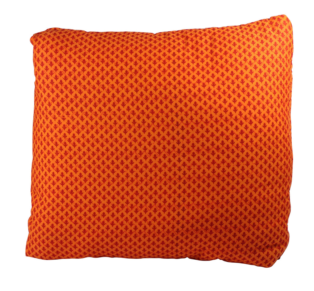 Little Cloves Orange Secret Pillow