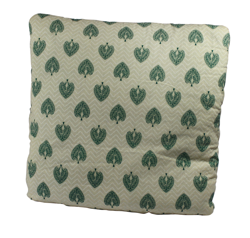 Peacock Monarch Emerald Green Secret Pillow