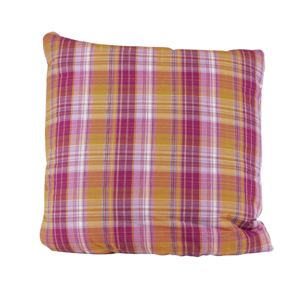 Pink Check Wonder Secret Pillow
