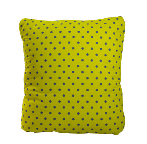 Rickshaw City Yellow Secret Pillow