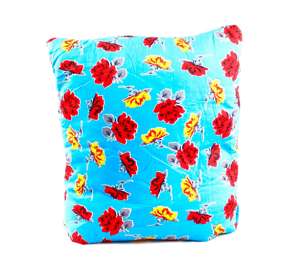 Romance in the Backwaters Blue Secret Pillow