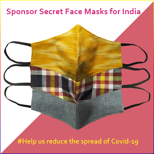 Sponsor Secret Face Masks for India!