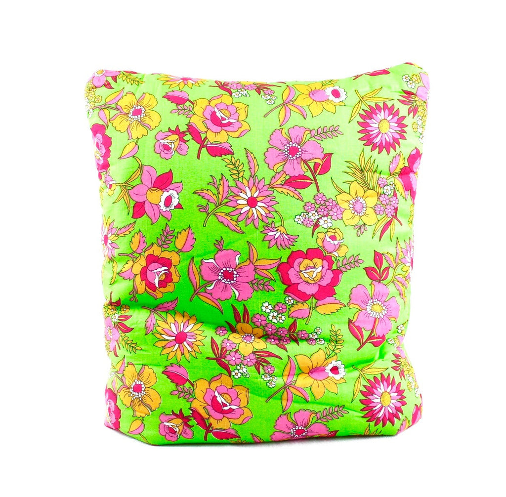 Temple Fields Green Secret Pillow