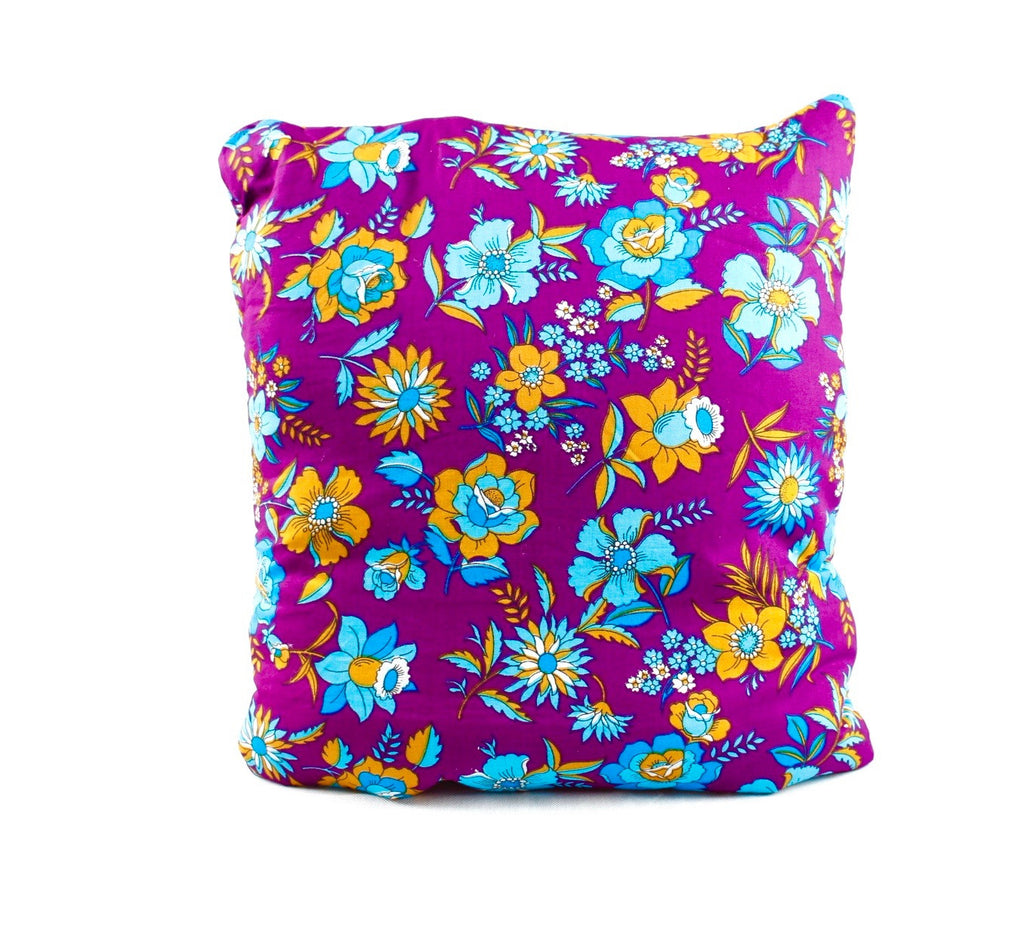 Temple Fields Purple Secret Pillow