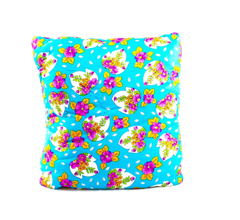 Temple Touch Turquoise Secret Pillow
