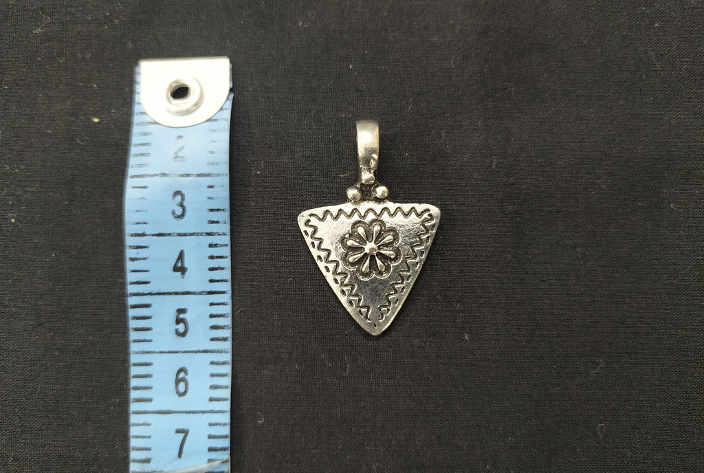 Triangle Heart Medallion