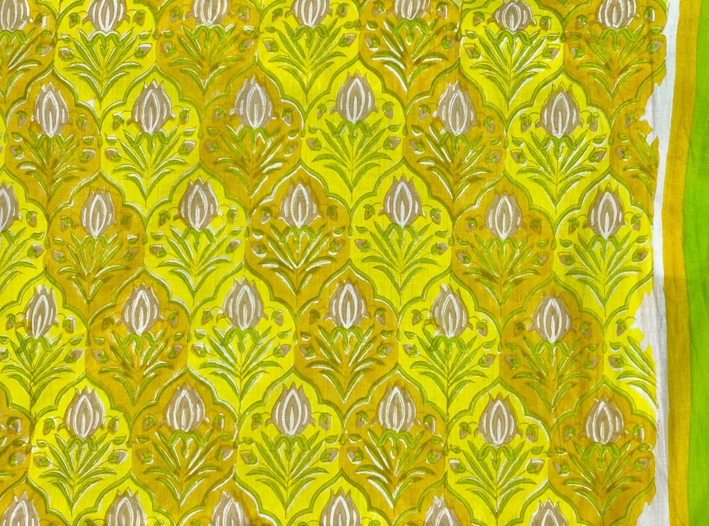 Mal Yellow Fabric