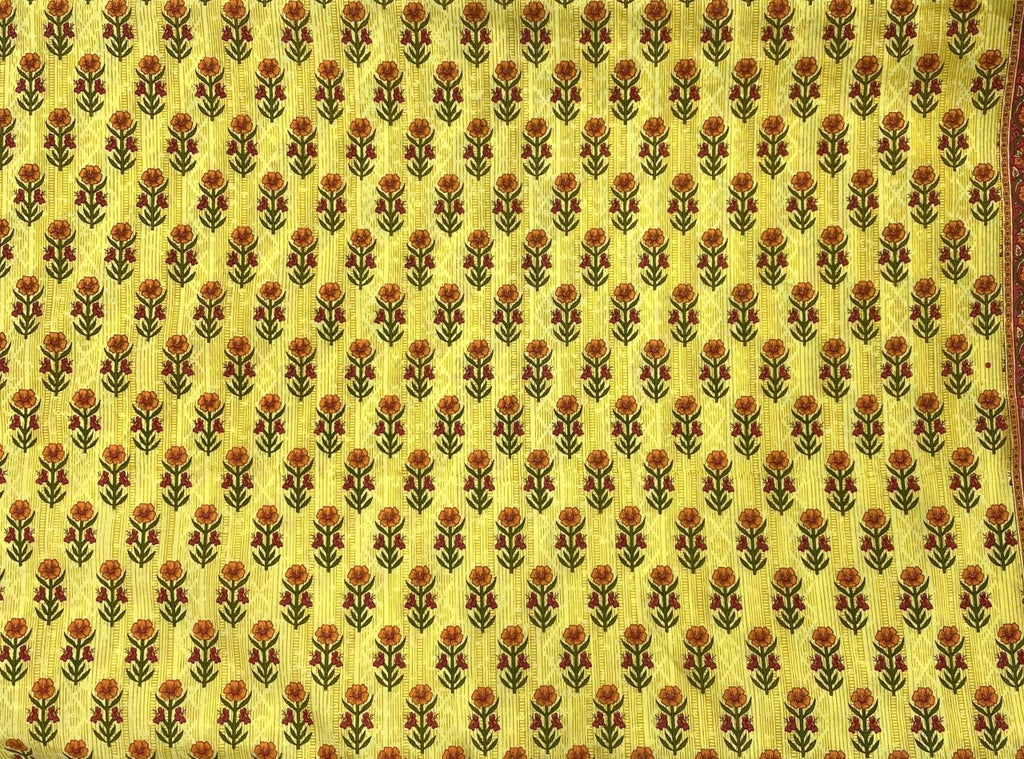 Aster Yellow Fabric