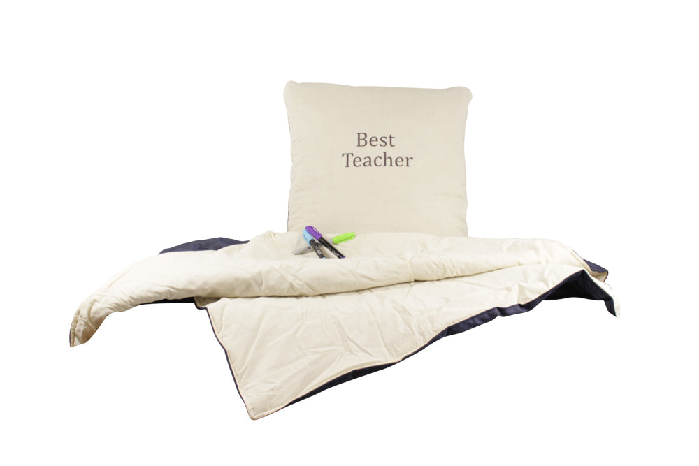 Best Teacher Secret Pillow