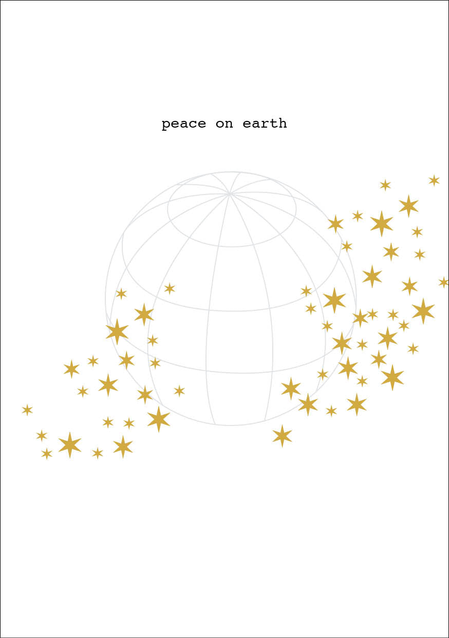 Peace on Earth Christmas Card and Donation Towards our Training for ...