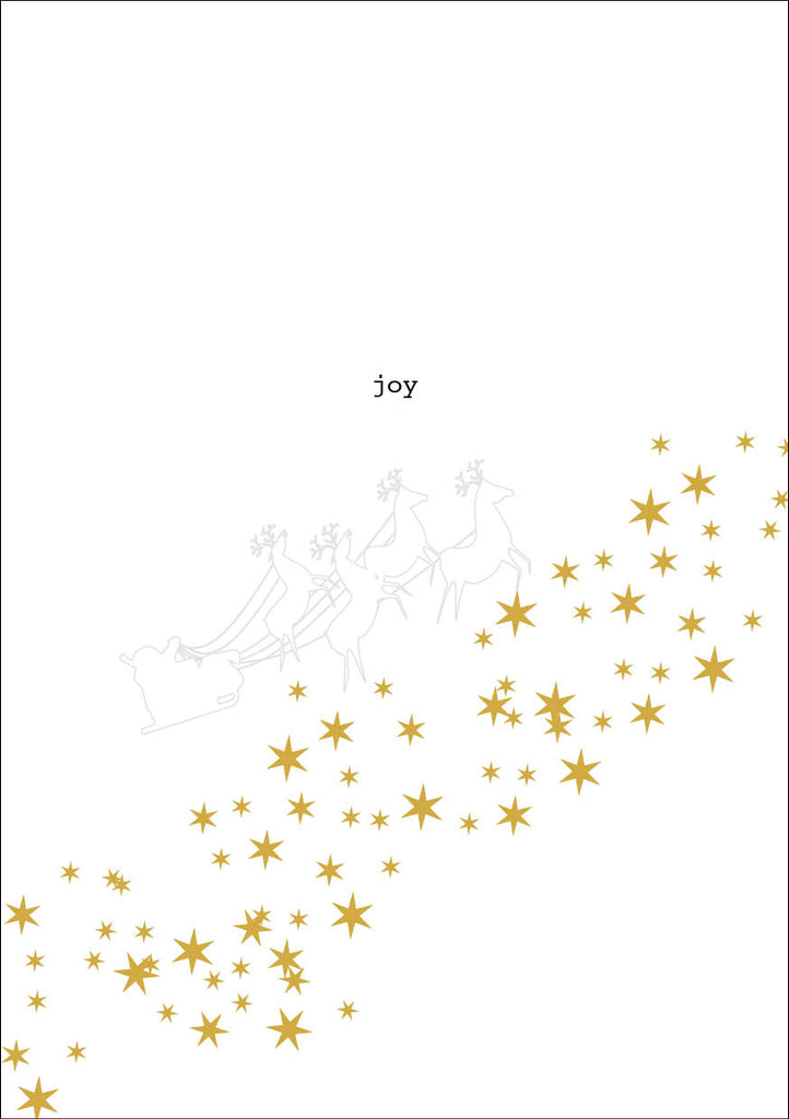 Joy Christmas Card and Donation Towards our Training for Empowerment Programme