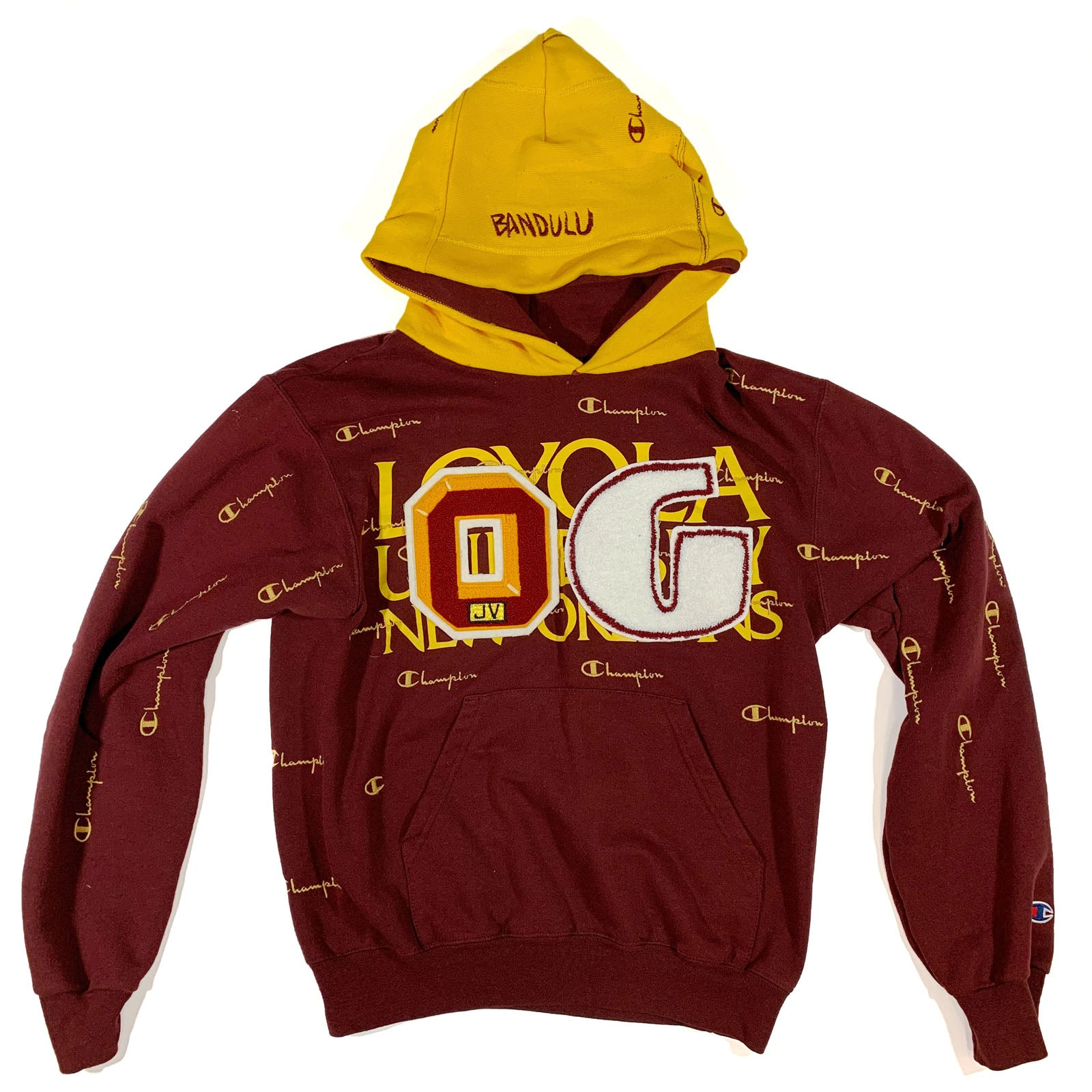 "BANDULU "" ROYAL RULING "" CHAMPION HOODIE S"