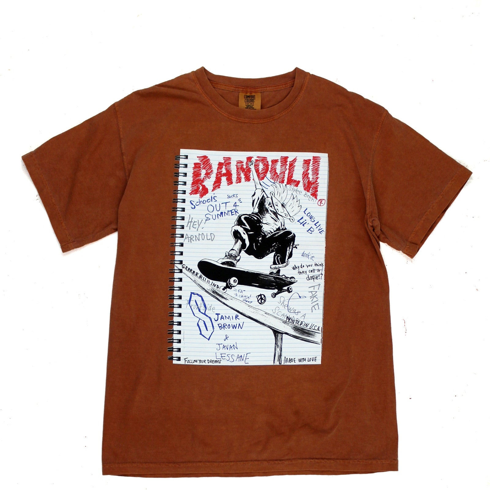 "BANDULU ""P.S. 118 IS BURNING"" SS T-SHIRT"