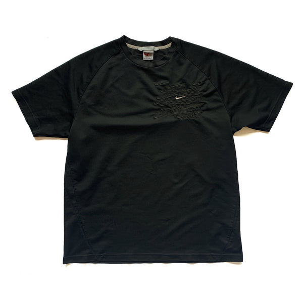 "BANDULU "" MURDERED OUT "" VINTAGE NIKE TEE XL"