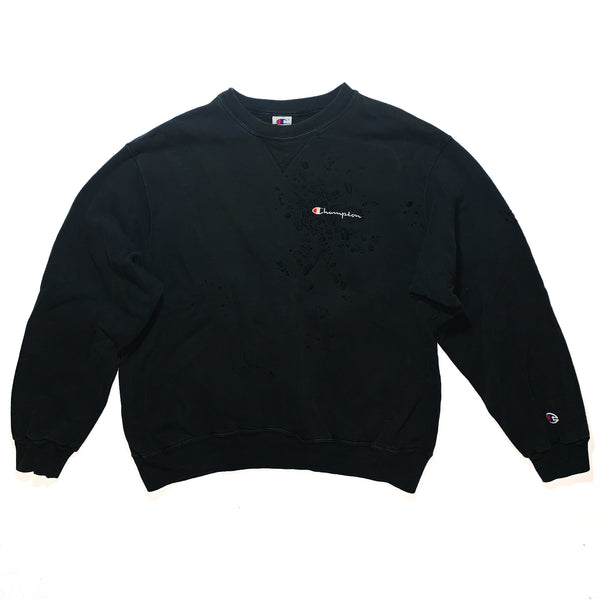 "BANDULU "" MURDERED OUT "" VINTAGE CHAMPION CREW"