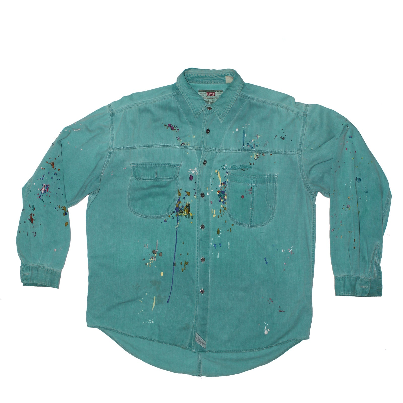 "BANDULU ""ALL THE SEA VINTAGE LEVI'S SHIRT"