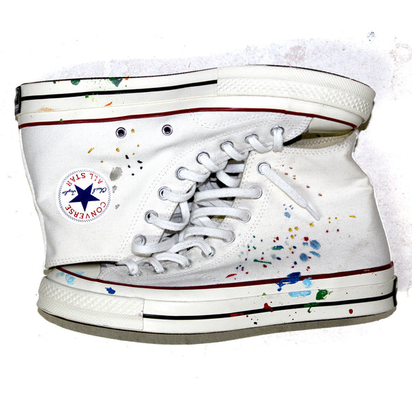"SECRET BANDULU ""COMING OUT SWINGIN'"" CONVERSE CHUCK 70'S"