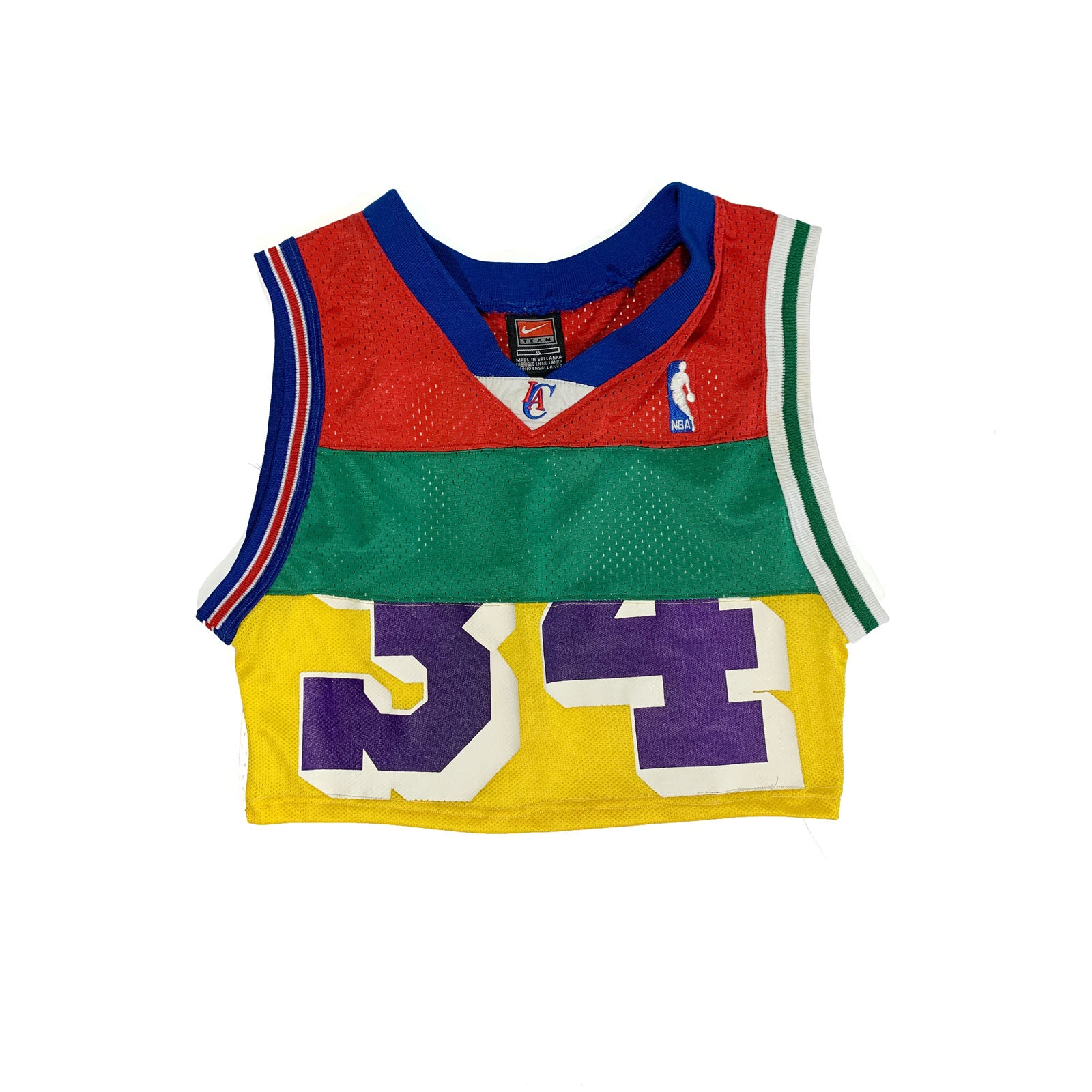 "BANDULU "" NBA JAM "" CUT 'N SEW WOMEN'S CROP"