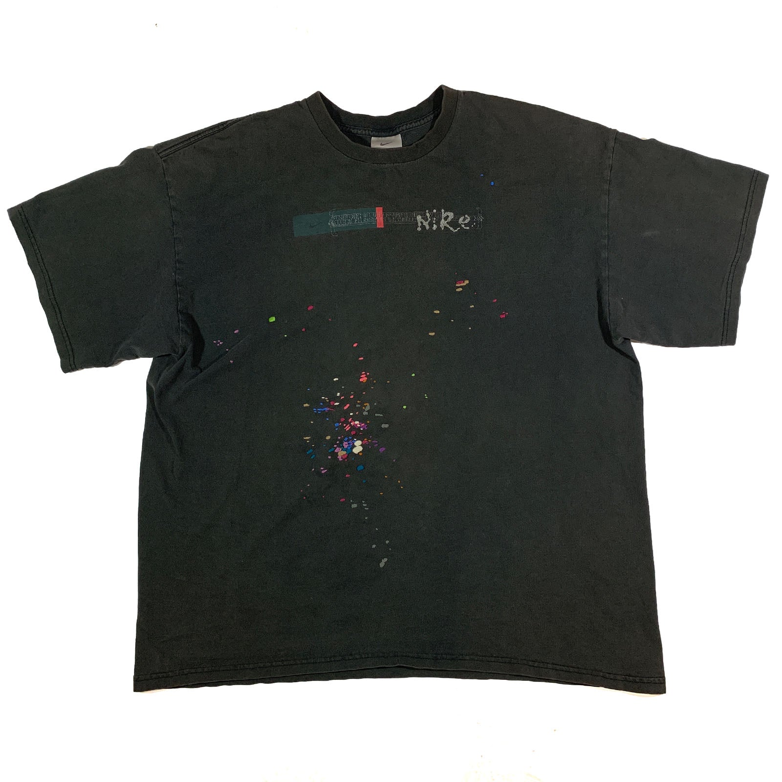 "BANDULU "" CHROME TEARS "" VINTAGE NIKE TEE XL"