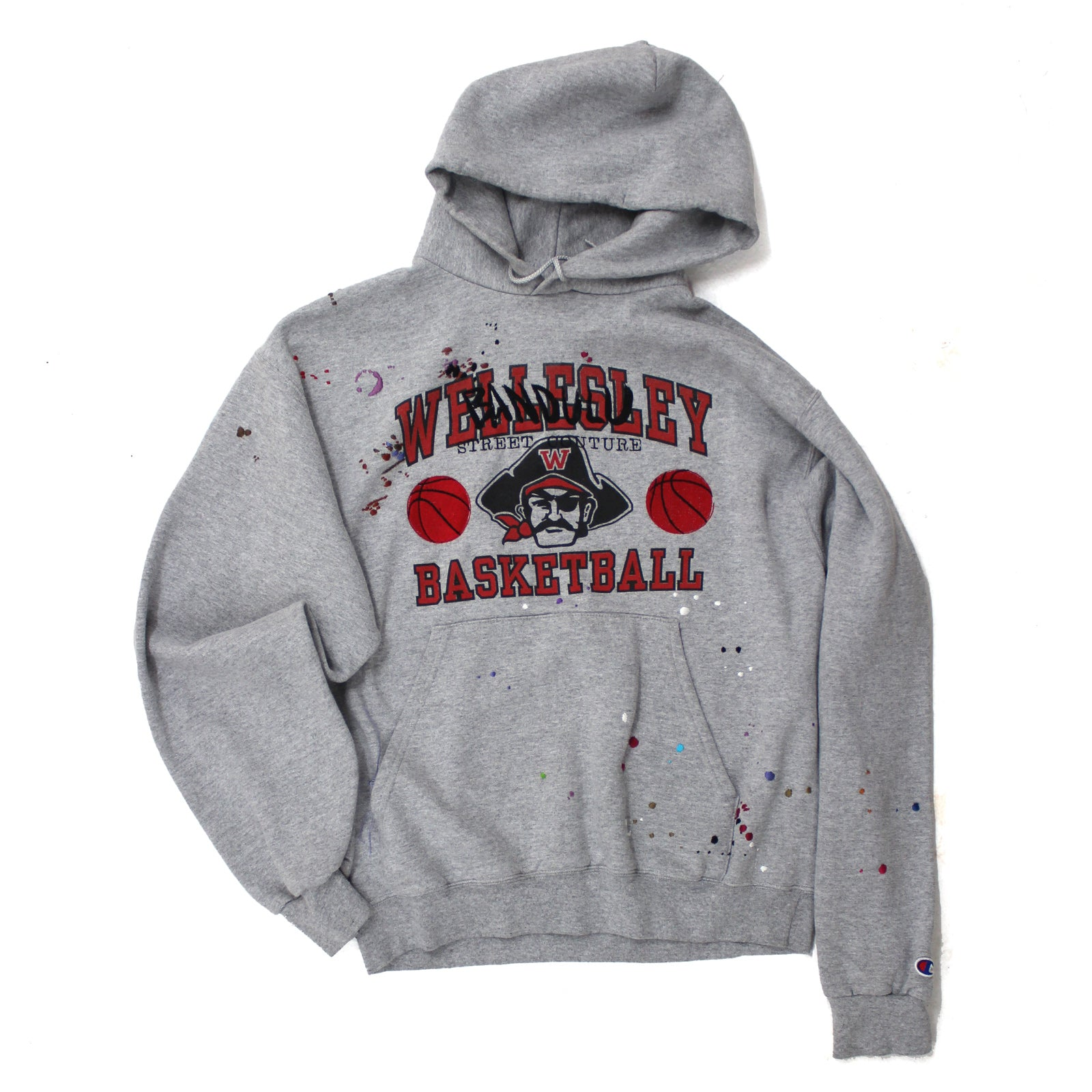 "BANDULU ""PIRATE BASKETBALL"" VINTAGE CHAMPION HOODIE"