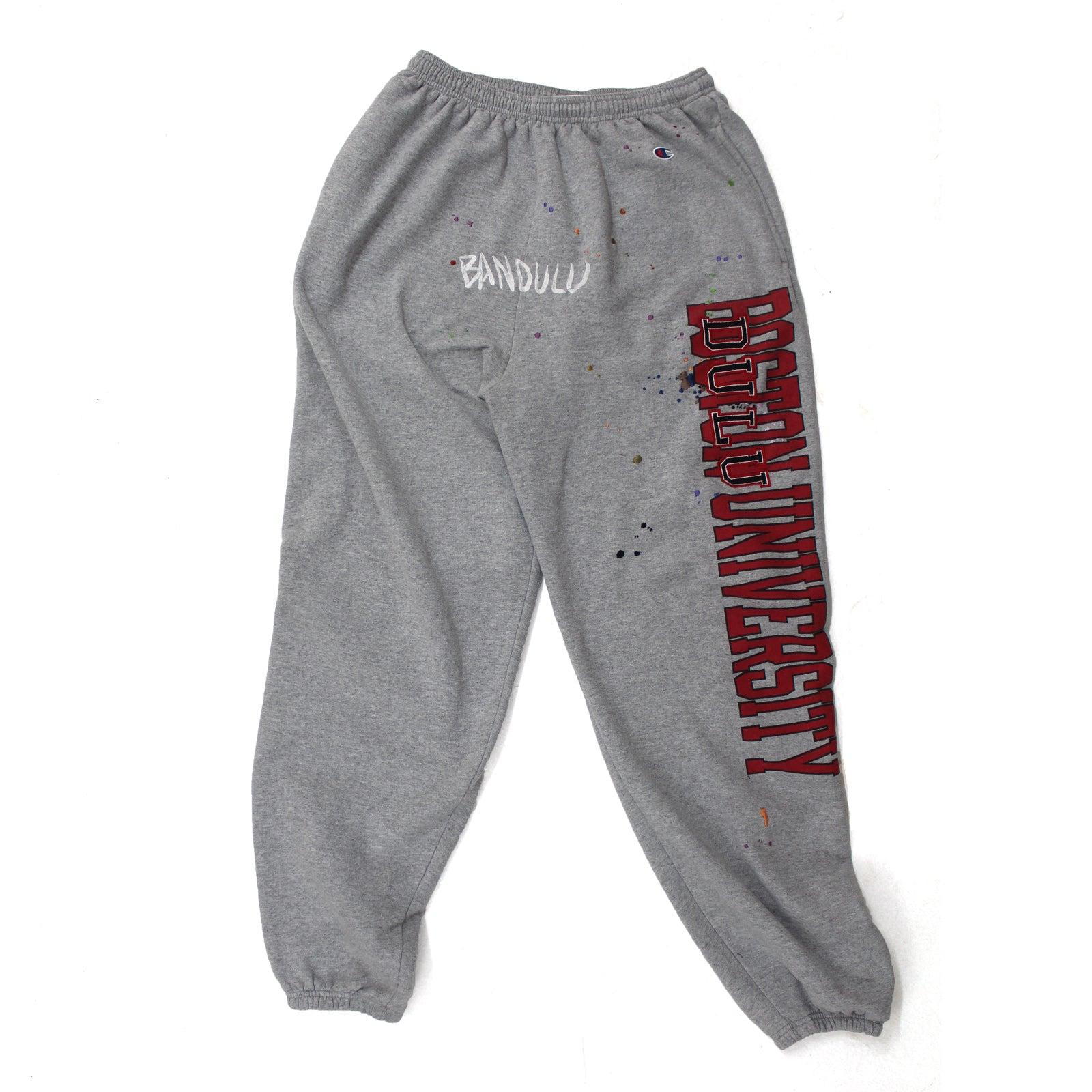 "BANDULU ""GOOD OL' DULU 'U' "" VINTAGE CHAMPION SWEATPANTS"