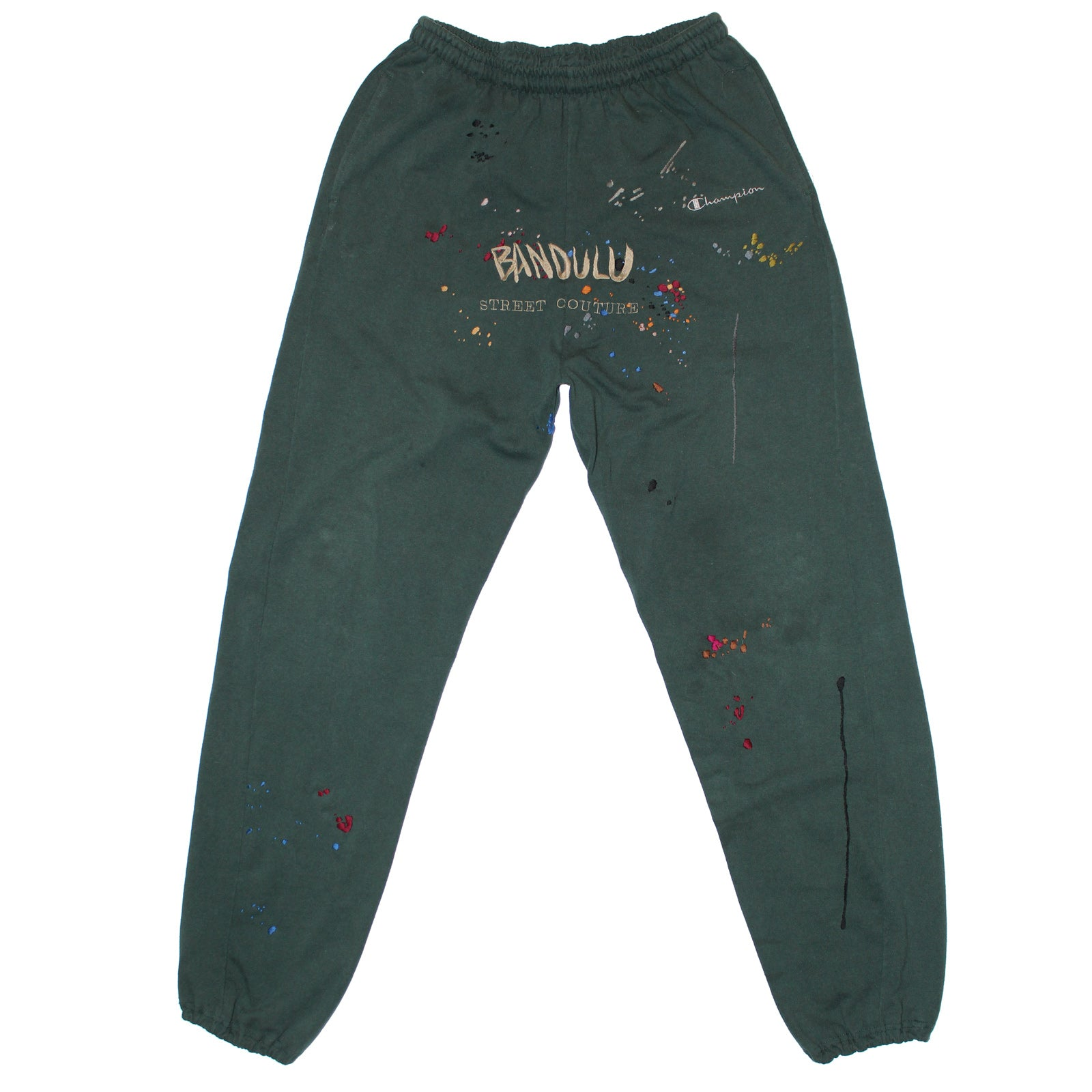 "BANDULU ""FOREST THRU THE TREES"" VINTAGE CHAMPION SWEATS"