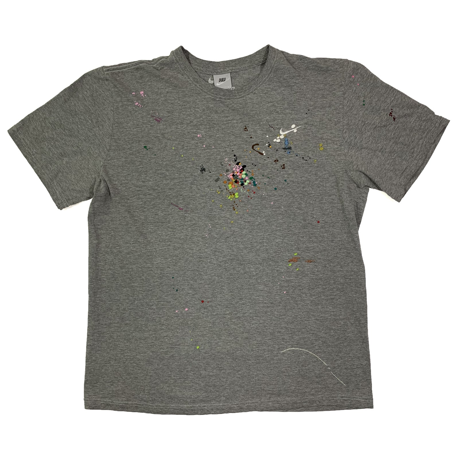 "BANDULU "" ATTACK THAT "" VINTAGE NIKE TEE XL"