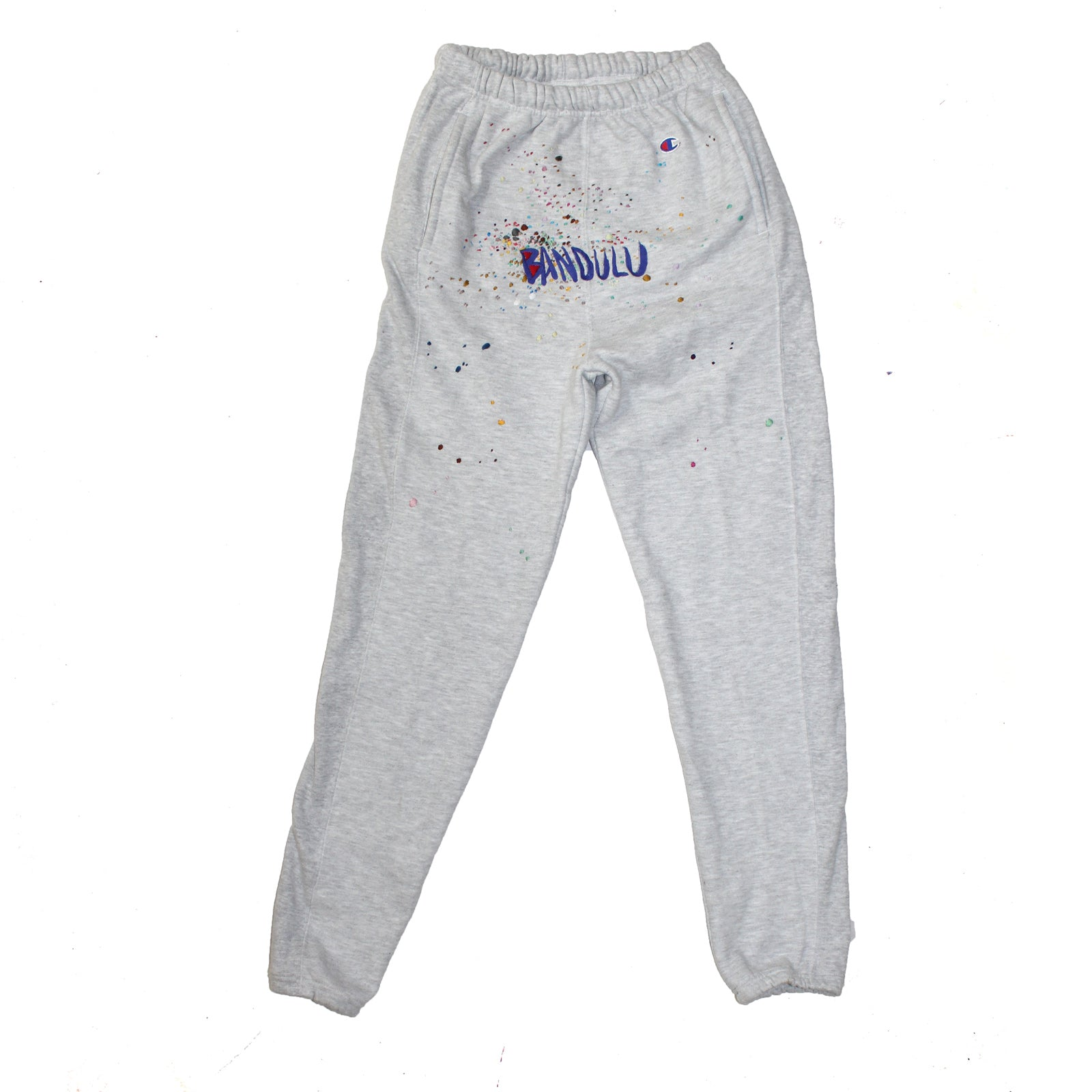 "BANDULU ""JUST FOR FUN"" VINTAGE CHAMPION SWEATPANTS"
