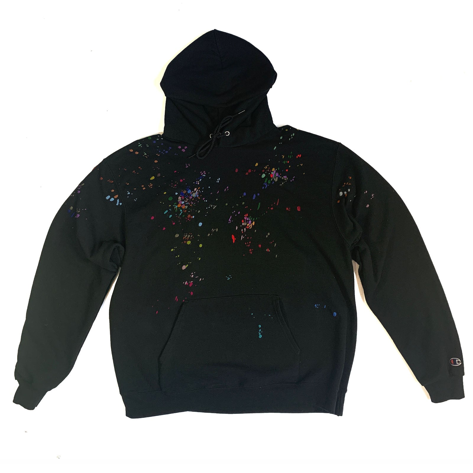 "BANDULU "" GALAXY MIND "" VINTAGE CHAMPION XL HOODIE"