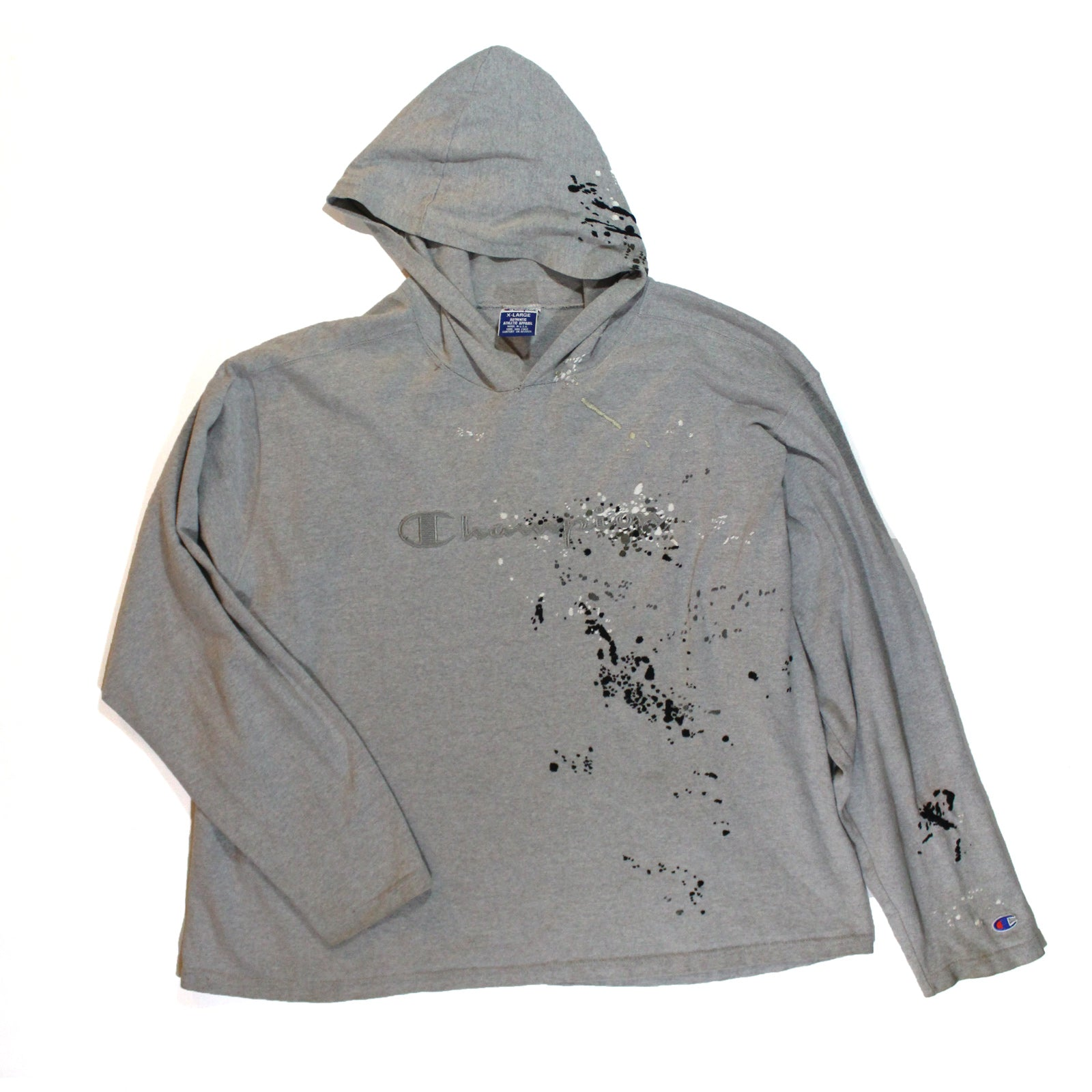 "BANDULU ""CLOAK AND DAGGER"" VINTAGE CHAMPION HOODED TEE"