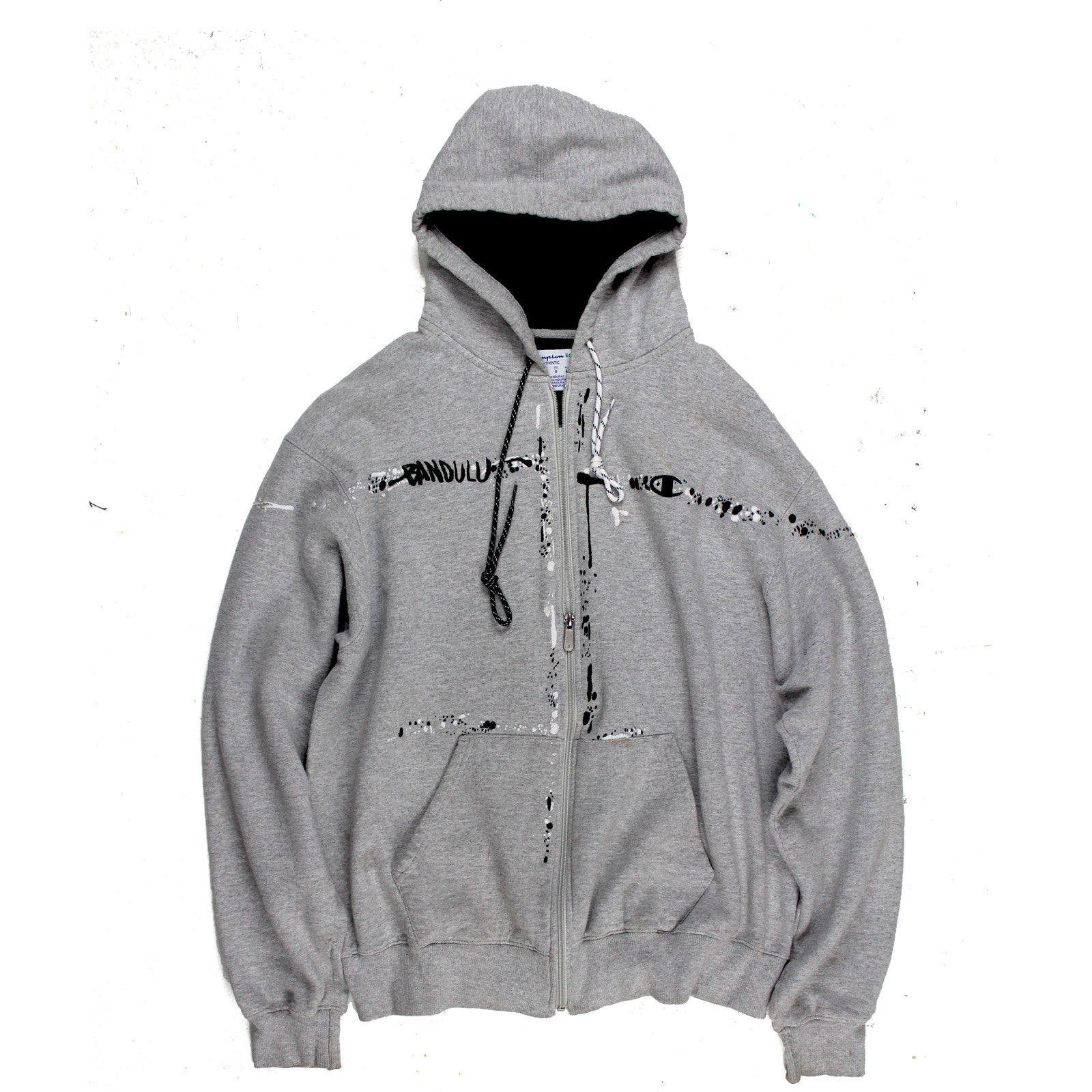 "BANDULU ""CONCRETE BLAH-ZAY"" CHAMPION FLEECE HOODIE"