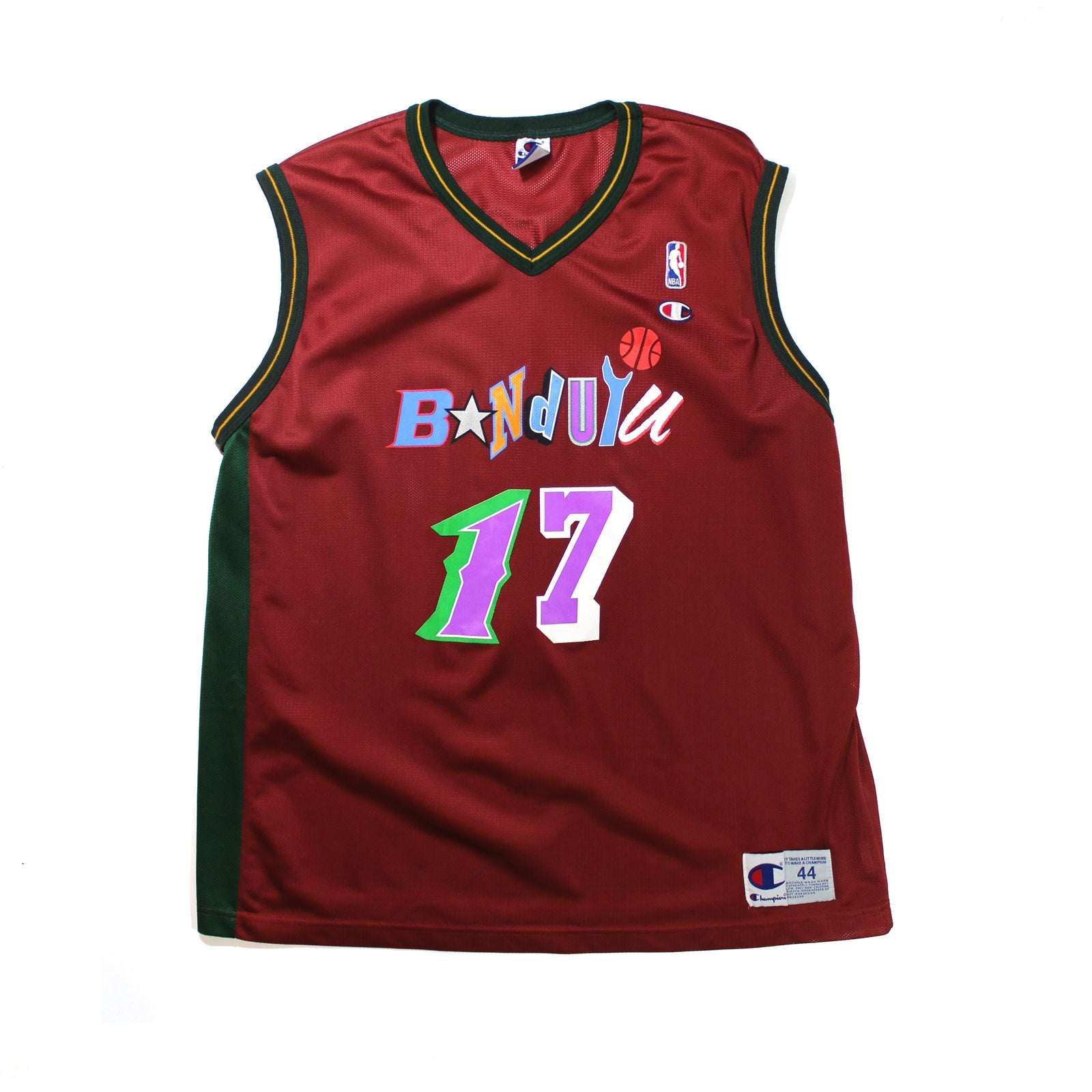 "BANDULU ""NBA 2017 JAM"" CHAMPION GRAPHIC JERSEY"