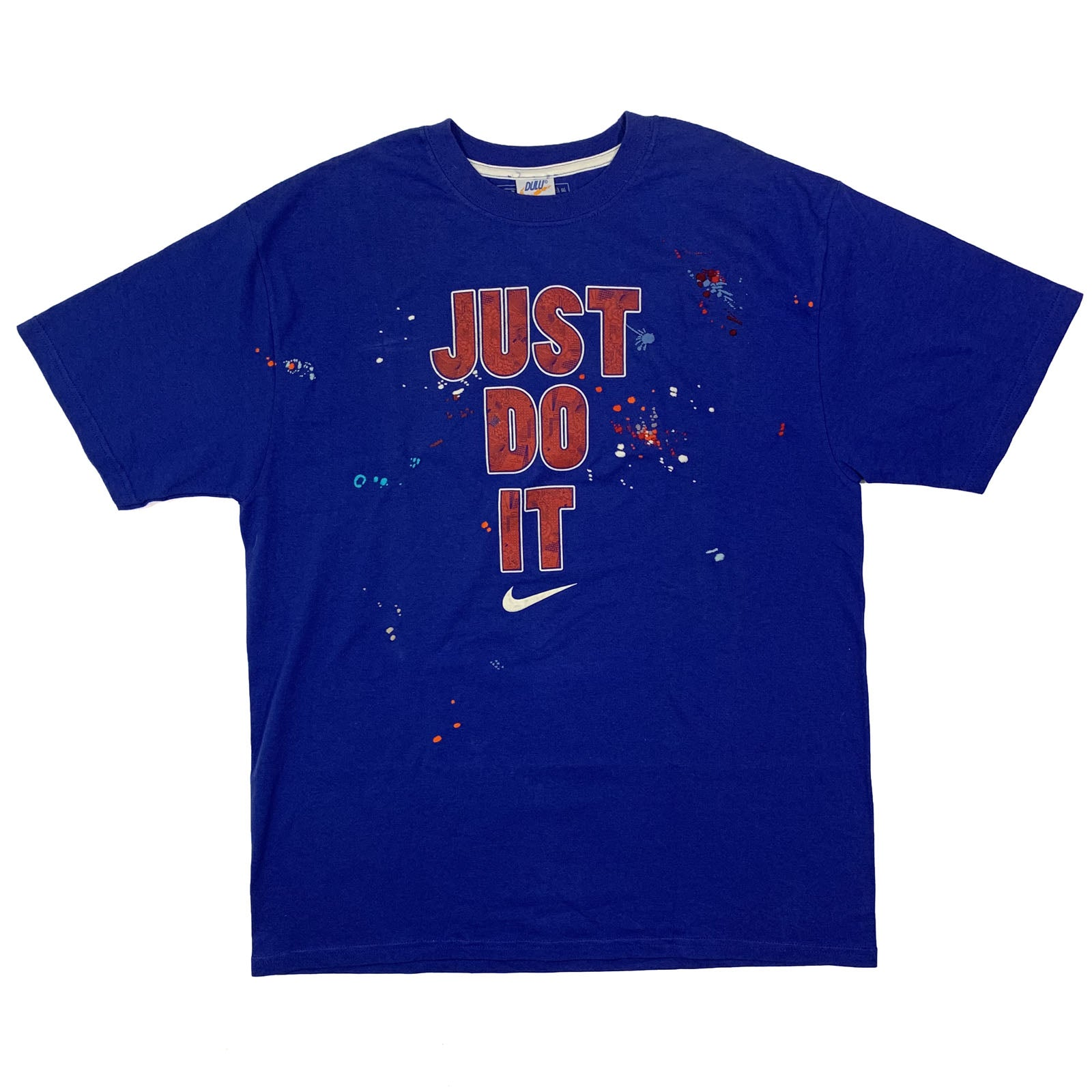 "BANDULU "" JUSS DO IT "" VINTAGE NIKE TEE XL"
