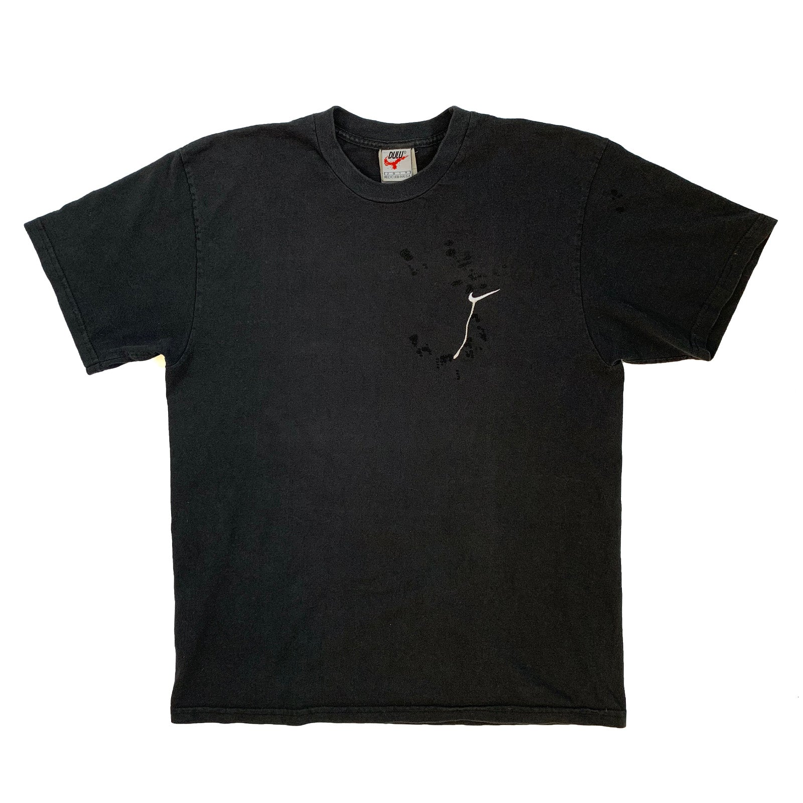 "BANDULU "" MURDERED OUT "" VINTAGE NIKE TEE M"