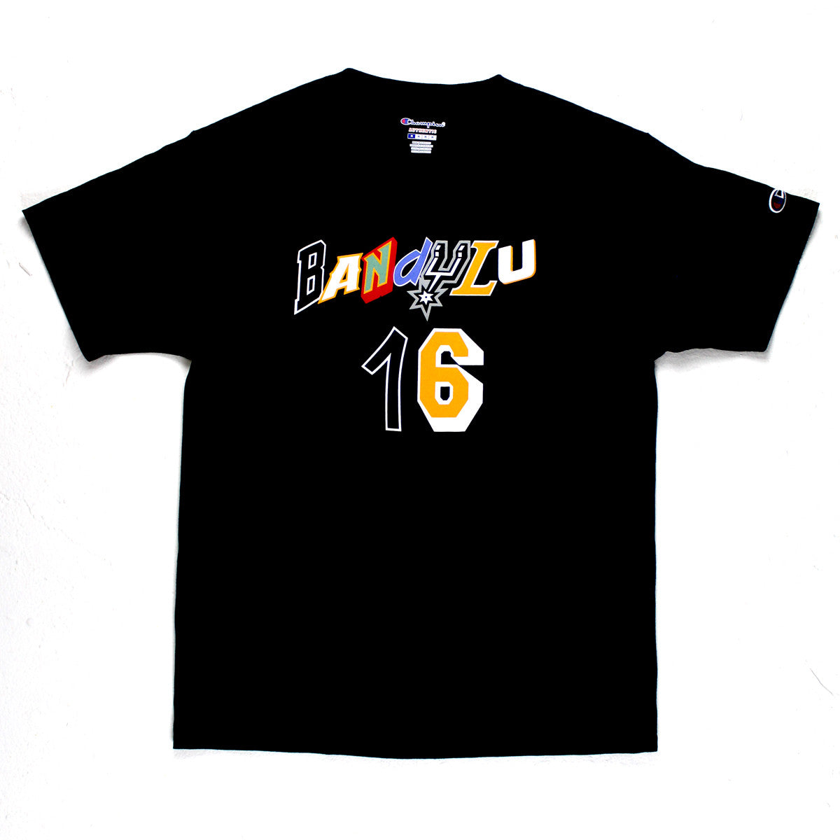 "BANDULU ""NBA JAM"" CHAMPION GRAPHIC TEE"