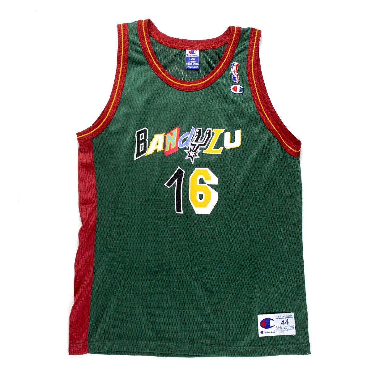 "BANDULU ""NBA JAM"" CHAMPION GRAPHIC JERSEY"