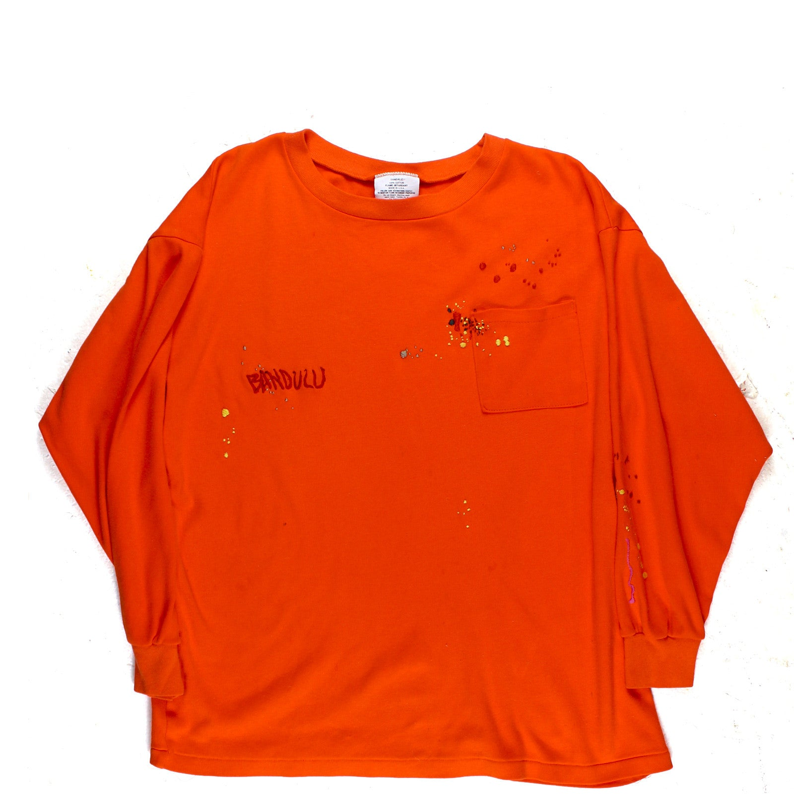 "BANDULU ""SAFE TEA"" FLAME PROOF L/S TEE"