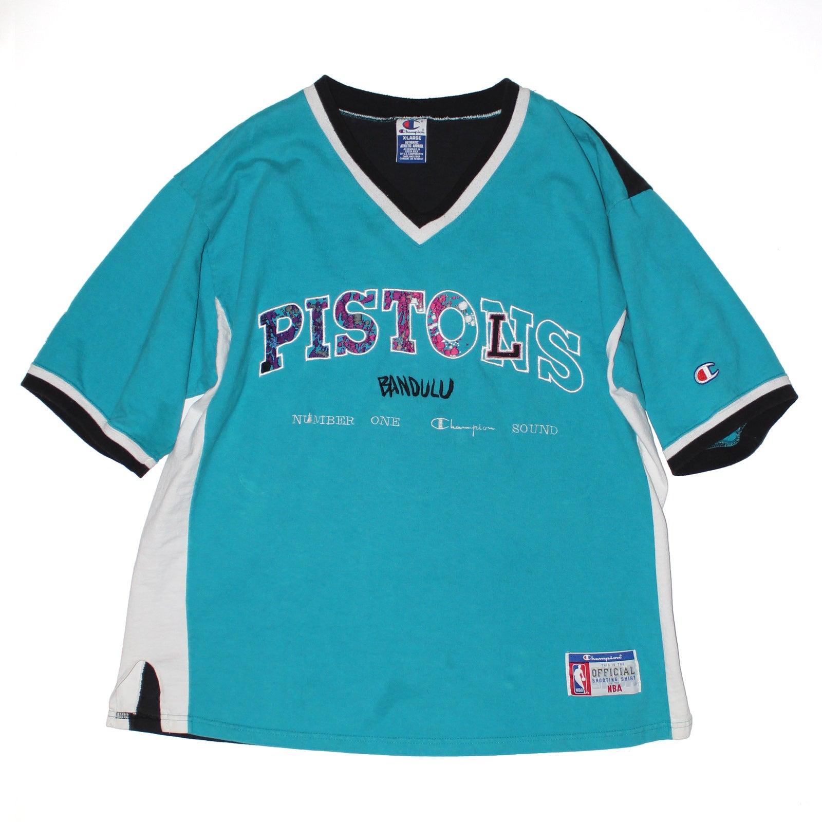 "BANDULU ""NBA PISTOLS"" SHOOTING SHIRT"