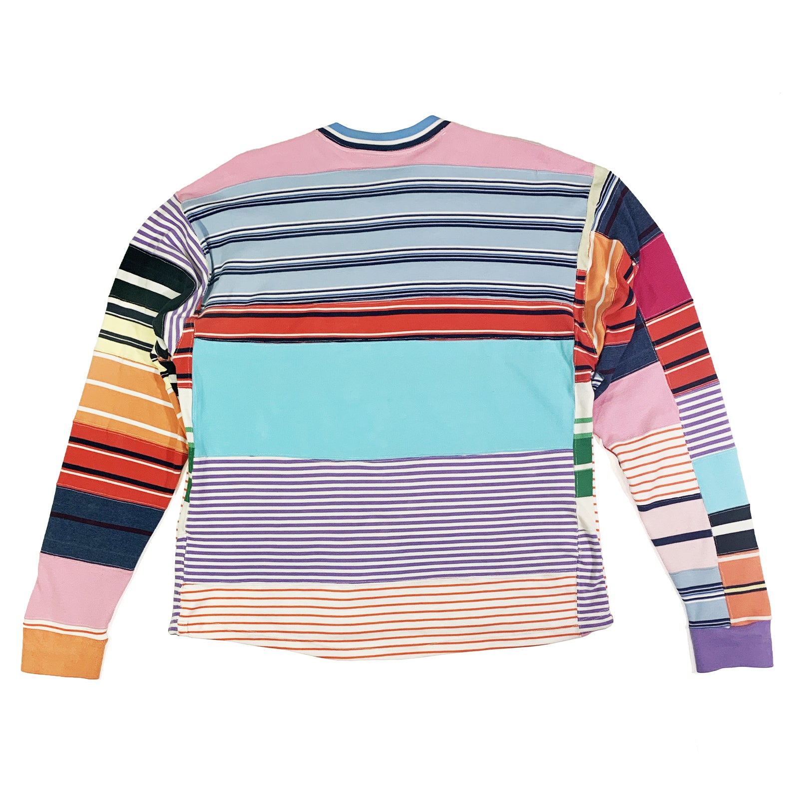 "BANDULU "" STRIPES "" UPCYCLED RALPH LONGSLEEVE LARGE"