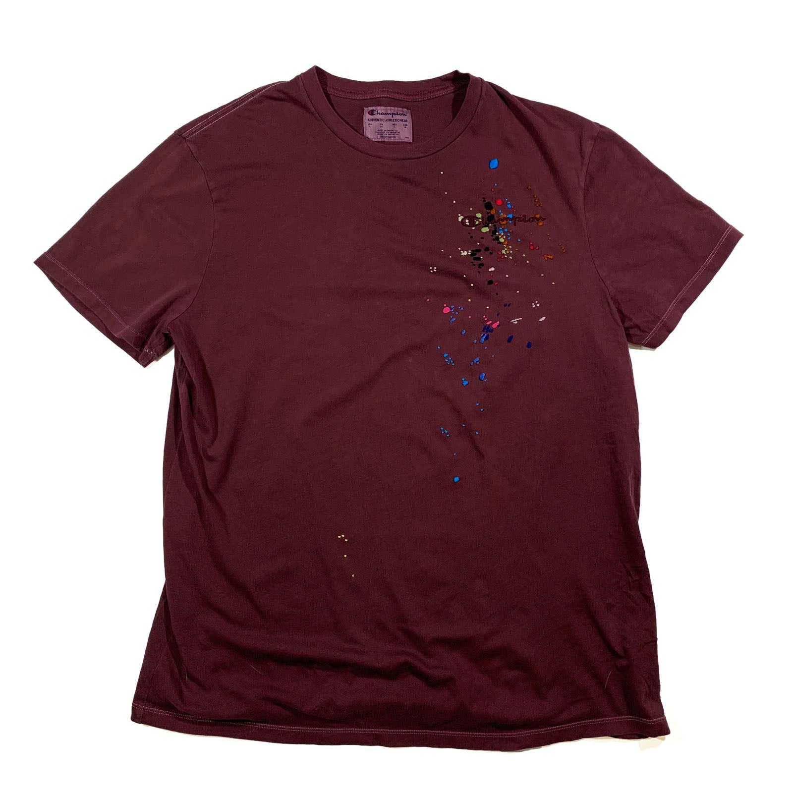 "BANDULU "" GRAPES GONE BAD "" VINTAGE CHAMPION TEE L"