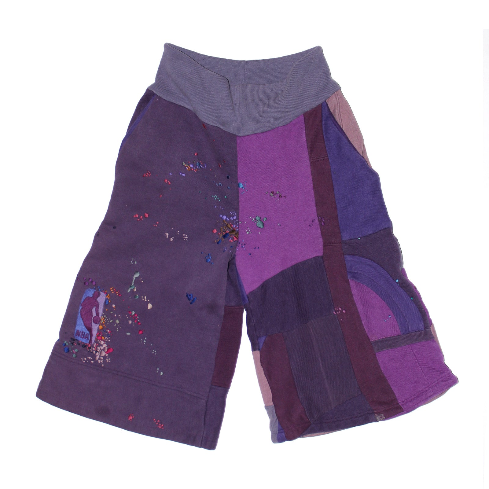 "BANDULU ""PURPLE HAZE"" CHAMPION SWEAT SHORTS"