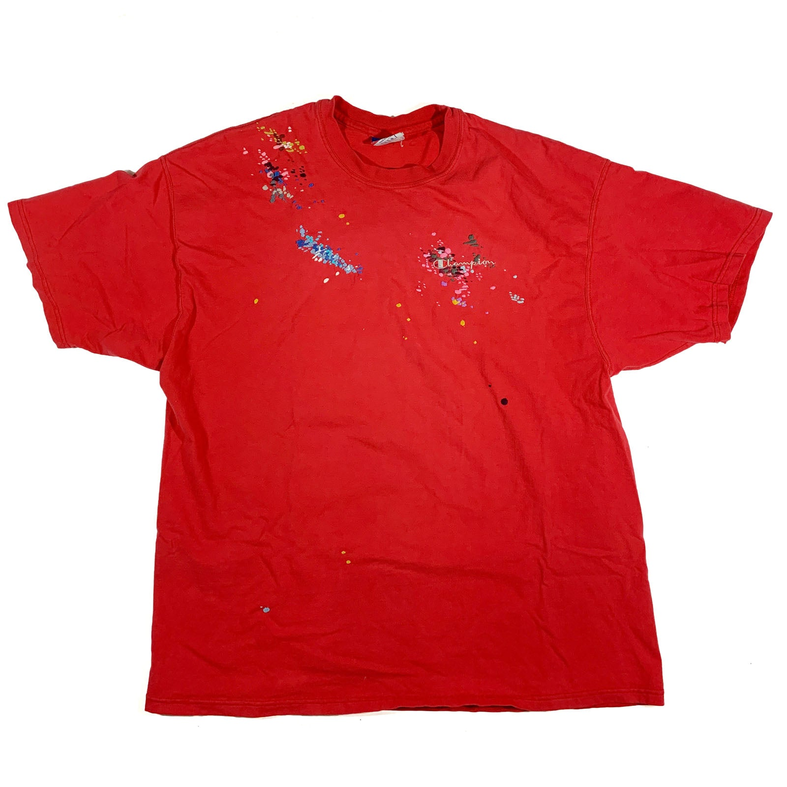 "BANDULU "" REDDER THAN "" VINTAGE CHAMPION TEE L"