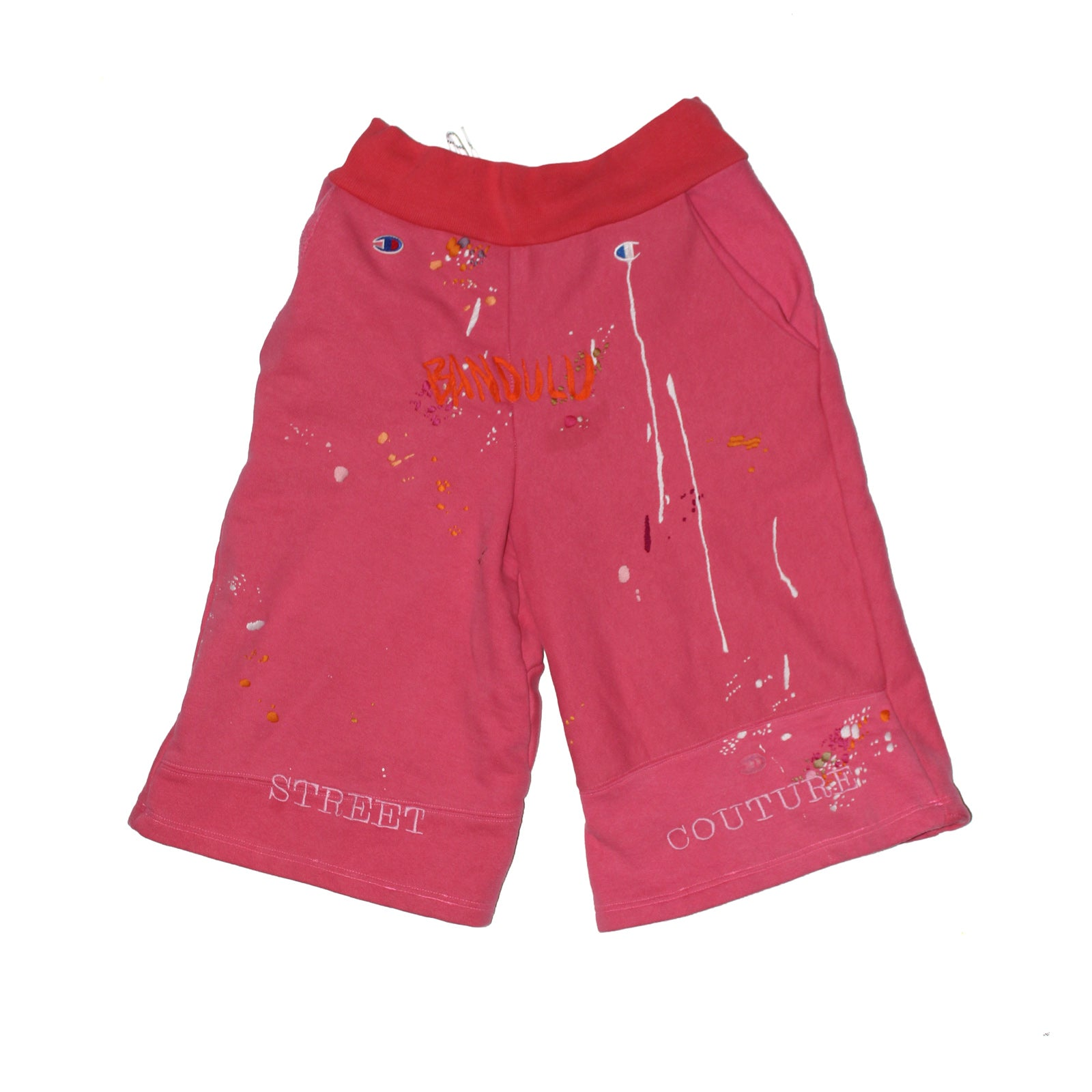 "BANDULU ""SKEET COUTURE"" CHAMPION SWEAT SHORTS"
